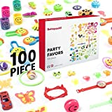 BeHappyAll Bulk Toys Assortment, Party Favors for Kids, 100pc Prizes for Kids, Birthdays Party,School Classroom Reward, Pinata, Carnival Prizes, Stocking Stuffers, Mix Bags