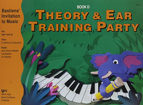 WP277 - Bastiens Invitation to Music Theory and Ear Training Party Book D