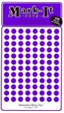 """Medium 1/4"""" removable Mark-it brand dots for maps, reports or projects - purple"""