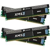 Corsair XMS3 16GB (4x4GB)  DDR3 1600 MHz (PC3 12800) Desktop Memory 1.5V