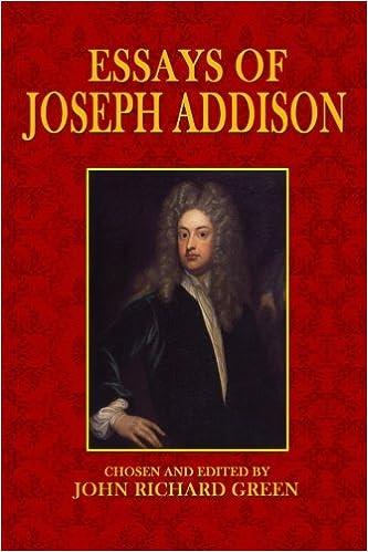 Joseph addison essays rdbms research paper