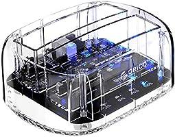 Hard Drive Docking Station, ORICO USB 3.0 HDD Docking Station Dual-Bay External Hard Drive Enclosure with Offline...