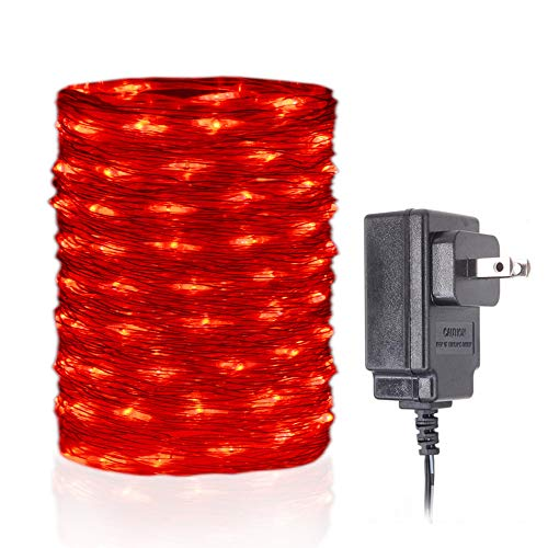 100 Count Red Led Christmas Lights in US - 6