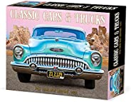 Classic Cars & Trucks 2022 Box Calendar, Daily Des