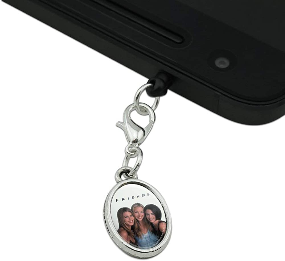 GRAPHICS /& MORE Friends The Girls Mobile Cell Phone Headphone Jack Oval Charm fits iPhone iPod Galaxy