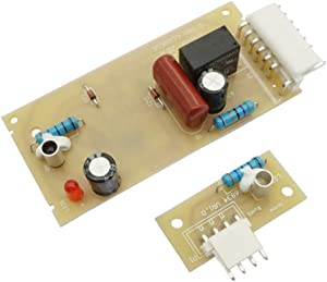 Ecumfy 4389102 W10757851 Ice Level Control Board Kit Compatible with Whirlpool Kenmore Refrigerators Replaces W10290817 AP5956767 W10193666 2255114