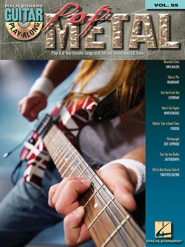 Pop Metal Vol.55 BK/CD Guitar Play-Along
