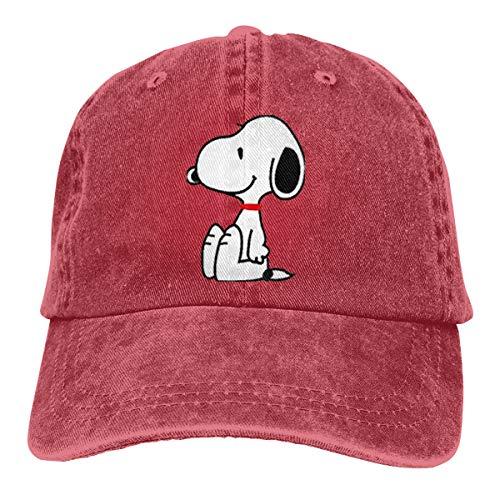 NEVER SKY Custom Unisex Snoopy Hoodie Men's and Women's Hoodie Sweatshirt Vintage Adjustable Cas Quette Cap Trucker Hat -
