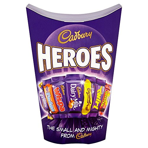 (Cadburys Miniature Heroes Small - 185g - Pack of 2 (185g x 2)