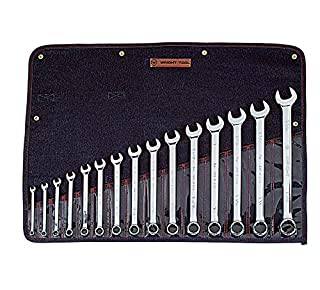 "Wright Tool 915 Full Polish 12 Point Combination Wrench Set 5/16"" - 1-1/4"" (15-Piece) (B002M3XF46) 