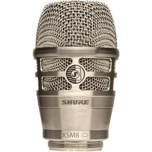 Shure KSM8 Dualdyne Cardioid Dynamic Wireless Microphone Capsule for Handheld Transmitter, Nickel (Microphone Dynamic Shure Cardioid)