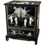 Oriental Furniture Black Lacquer End Table Review