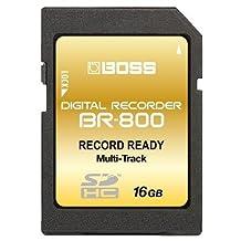 16GB Boss Roland BR-80, BR-800 SDHC Memory Card Upgrade