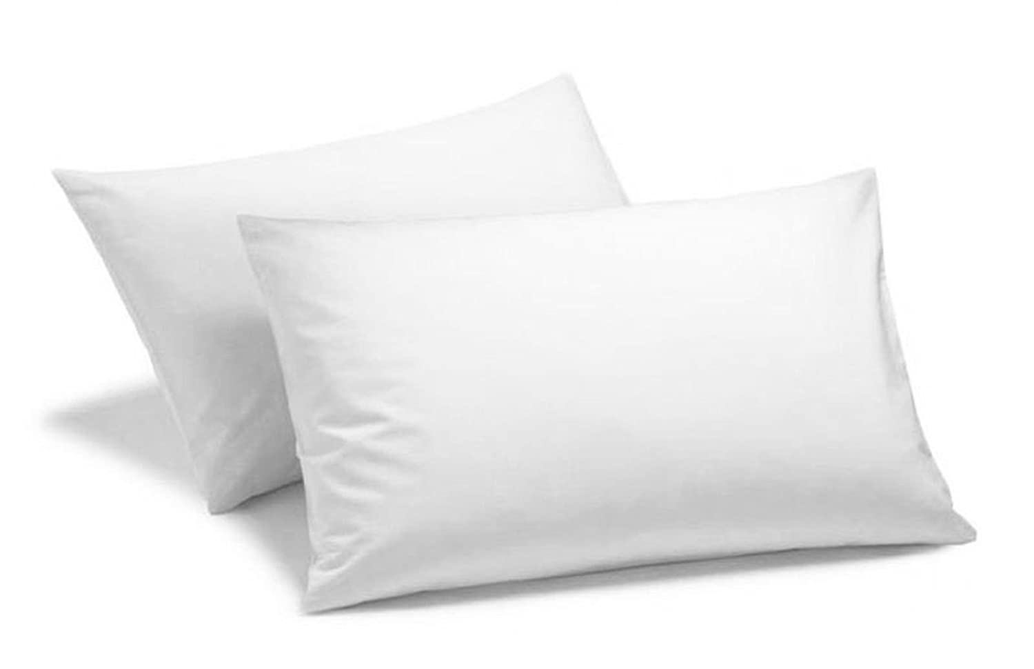 Cotton Comfort 400 Thread Count 100% Egyptian Cotton Housewife Pillow Case, White, Pack Of 2