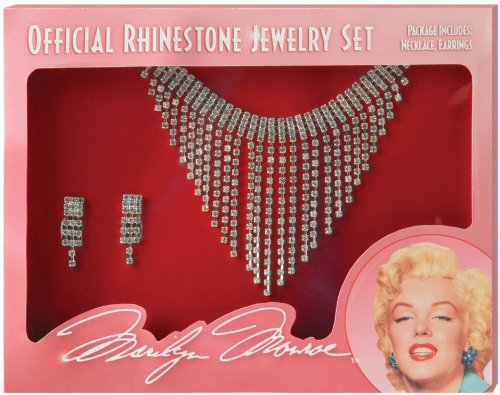 [California Costume Women's Marilyn Jewelry Set, Silver, One Size] (Horror Halloween Costumes For Women)