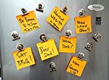 Mini Silver Refrigerator Magnet Hook Clips For Holding...