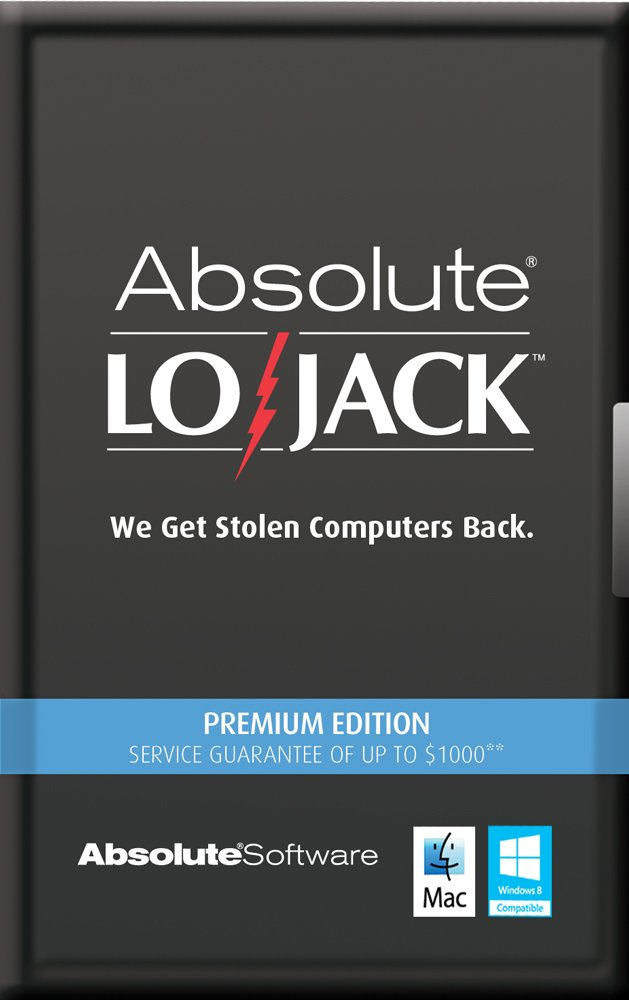 Computrace LoJack for Laptops Premium 1 Year [Online Code]