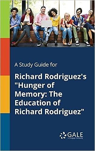 richard rodriguez hunger of memory
