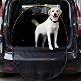 Dog Trunk Carrier for Car Travel or Camping to Keep Car Clean and Protect Car from Dog Scratch