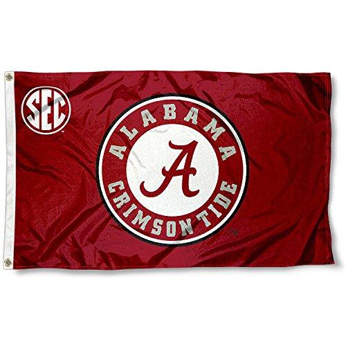 Alabama Crimson Tide Flag (Alabama Crimson Tide SEC 3x5 Flag)