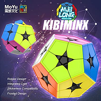Alician Magic Cube Irregular Shape Dodecahedron Matte Intellectual Development Smart Cube for Kids Adults