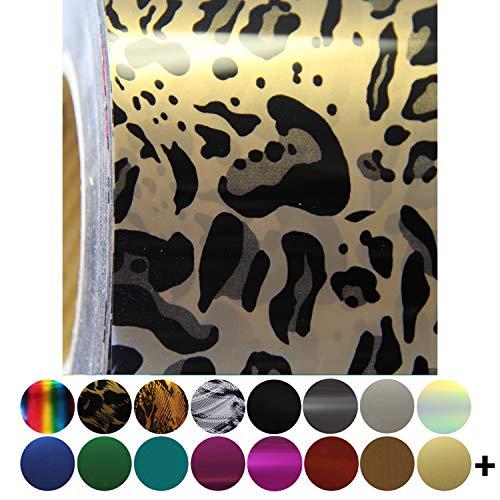 Threadart Metallic Foil Cheetah 20