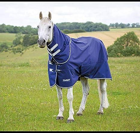 Shires Highlander Original 100g Horse//Pony Turnout Neck Cover in Navy