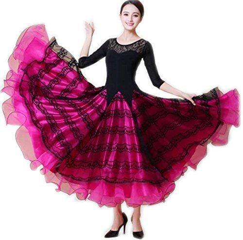 【国内発送】 garuda 社交ダンス ドレスダンス衣装 garuda 豪華モダン競技ワンピース 2色 2色 パーティーロングワンピース B075CKZR24 サイズM サイズM|ピンク ピンク サイズM, フクタマ:5eeeeb8c --- a0267596.xsph.ru