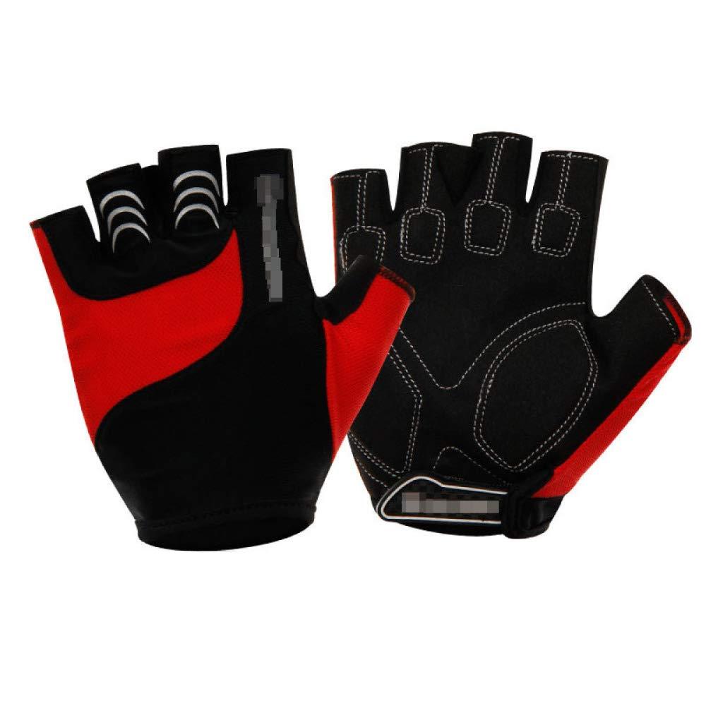 YIWANGO Halbe Fingerhandschuhe Für Herren Outdoor-Sportarten Radfahren Fitness Klettern,3-XL