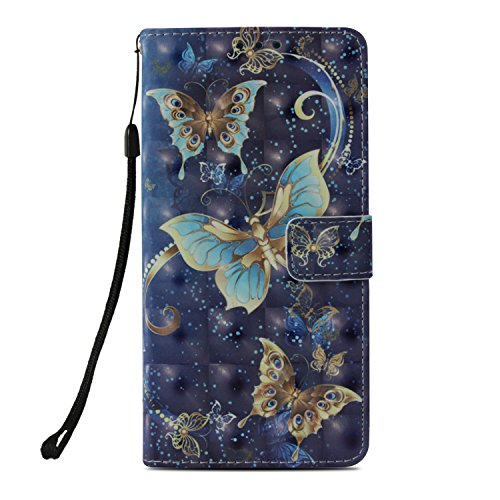 Galaxy Note 9 Wallet Case,XRPow PU Leather Kickstand Cover Wallet Folding Flip Case with Card Slots Magnetic Closure & Hand...