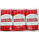 Yerba Mate Amanda - 3 bags of 2.2 Lbs each - 3 Kilos