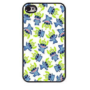 ZL Lovely Animals Design Aluminum Hard Case for iPhone 4/4S , Multicolor