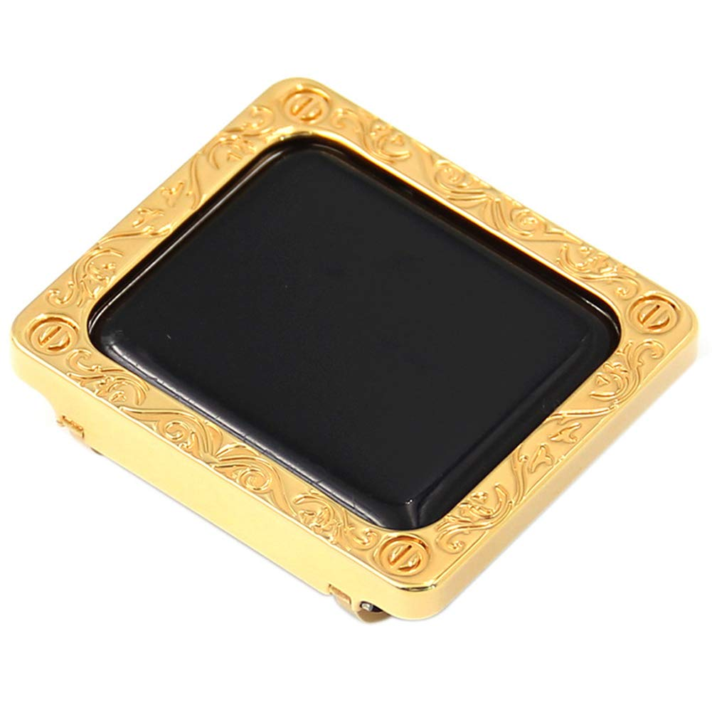 JIANGJIE Suitable for Iwatch/Apple Watch Series 3/2/1 Protective Frame, with Metal case Embossed Bezel Bezel Drop,38 mm, 42 mm,38MM