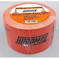 Hoodman 250x3 Drone Flight Zone Tape, 1 Roll
