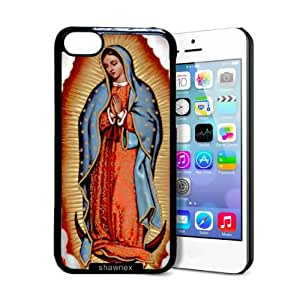Shawnex Our Lady Guadalupe iPhone 5C Case - Thin Shell Plastic Protective Case iPhone 5C Case