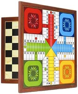 Fournier - Tablero parchís / ajedrez 4 jugadores