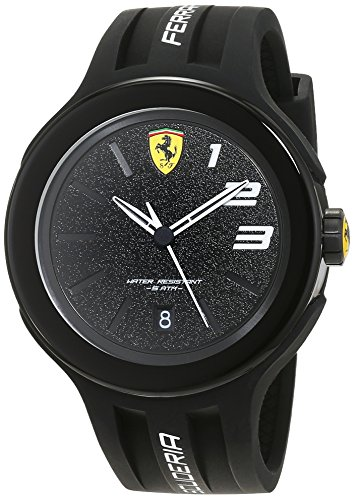 Ferrari Mens Scuderia Analog Casual Quartz Watch (Imported) 0830222