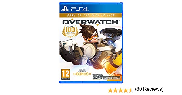 Overwatch - Game of the Year Edition - PlayStation 4 [Importación ...