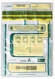 9 X 12 SafeLok, clear w/pocket, 100 Deposit Bags