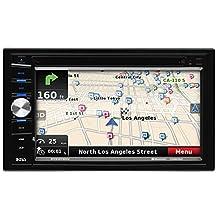 """BOSS BV9378NV Double Din, 6.5"""" Touchscreen, Bluetooth, Navigation, DVD, MP3, CD, AM/FM Receiver"""