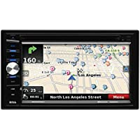 BOSS Audio BV9378NV Double Din, Touchscreen, Bluetooth, Navigation/GPS, DVD/CD/MP3/USB/SD AM/FM Car Stereo, 6.5 Inch Digital LCD Monitor, Wireless Remote