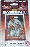 2015 Topps St Louis Cardinals Factory Sealed Special Edition 17 Card Team Set with Yadier Molina Michael Wacha and More