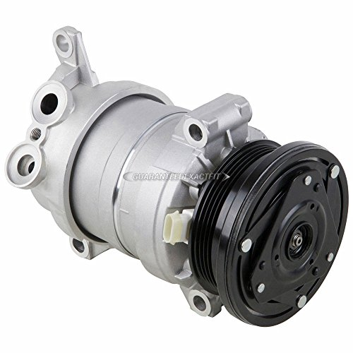 AC Compressor & A/C Clutch For Chevy Silverado Avalanche GMC Sierra C3500 HD Replaces Delphi HU6 - BuyAutoParts 60-00970NA New