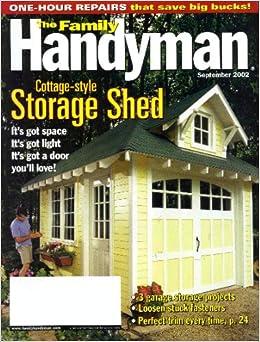 Family Handyman Sep 2002 Books