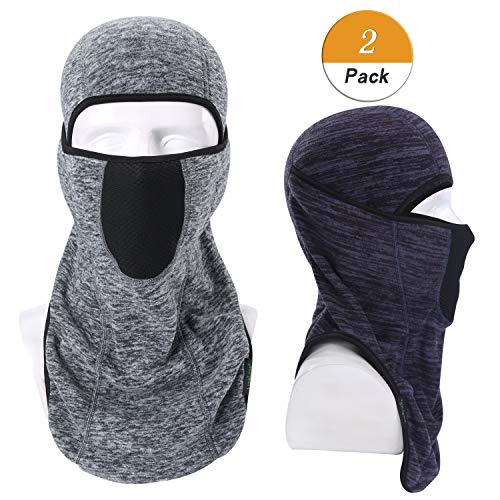 LongLong Balaclava-Ski Mask Winter Thicken Outdoor Face Mask Windproof Warmer Hood]()