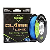 SeaKnight Classic PE Braided Fishing Line Multifilament 327 yards 513 yards 6lb-80lb Superline Abrasion Braid Lines Review