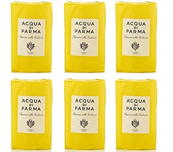 Acqua di Parma Colonia Wrapped Soaps 100 grams - Set of 6