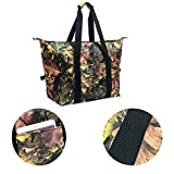 MYIDEA Multipurpose Outdoor Handbag Insulation Bag Lunch bags (Leaf Style, L)