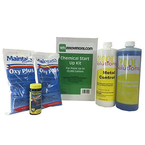 (Swimming Pool Spring Start-Up Chemical Opening Kit - Pools Up To 20,000 Gallons)