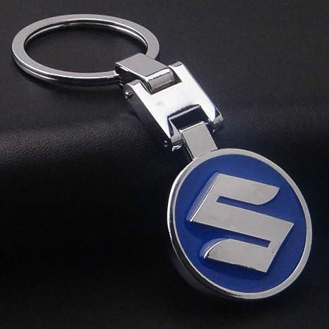 Amazon.com: Herchr Llavero con logotipo de metal 3D para ...
